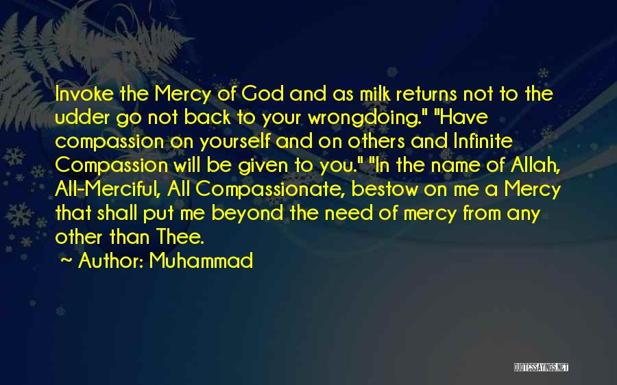 Allah Merciful Quotes By Muhammad