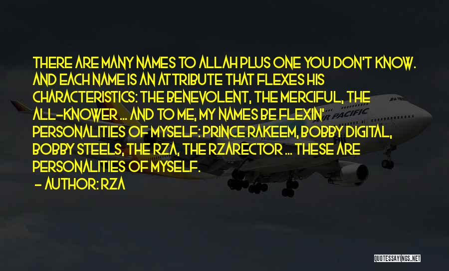 Allah Merciful Quotes By RZA