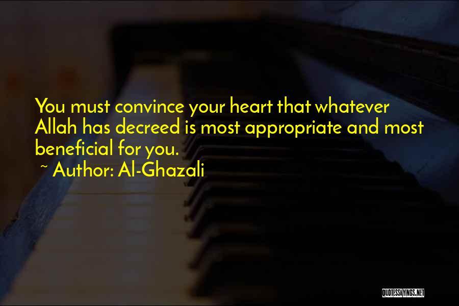 Allah Quotes By Al-Ghazali