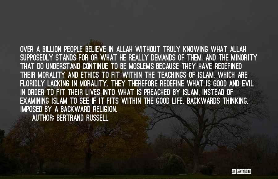 Allah Quotes By Bertrand Russell