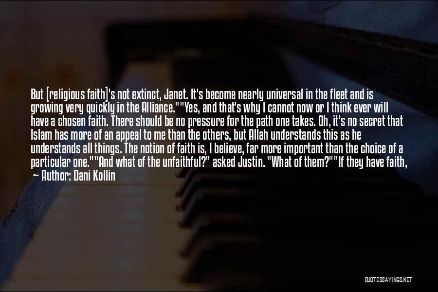 Allah Quotes By Dani Kollin
