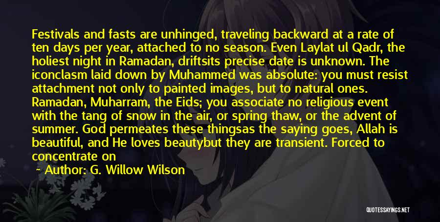Allah Quotes By G. Willow Wilson