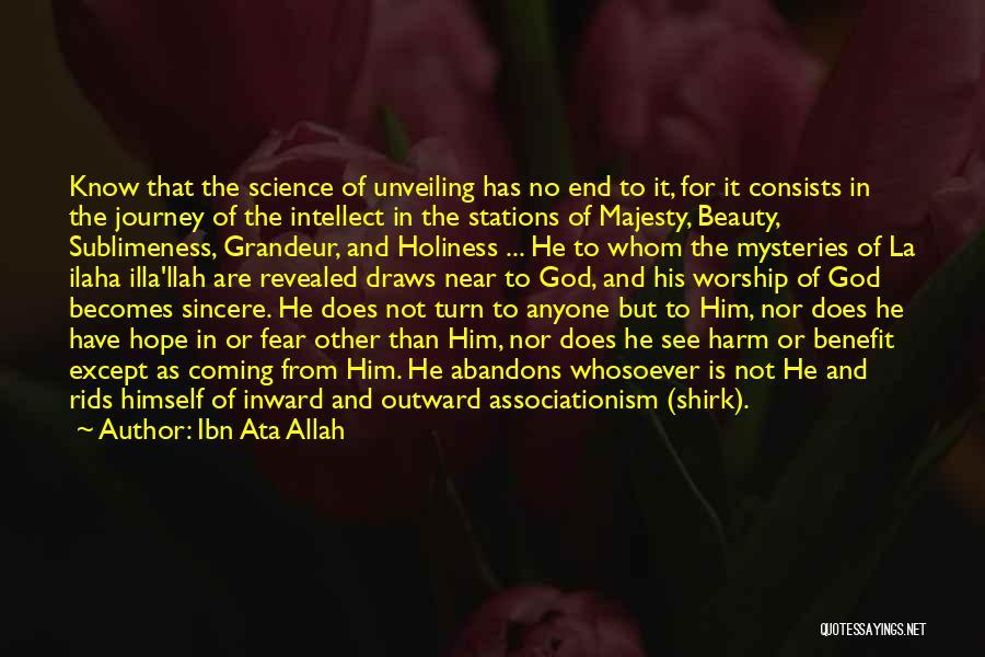 Allah Quotes By Ibn Ata Allah