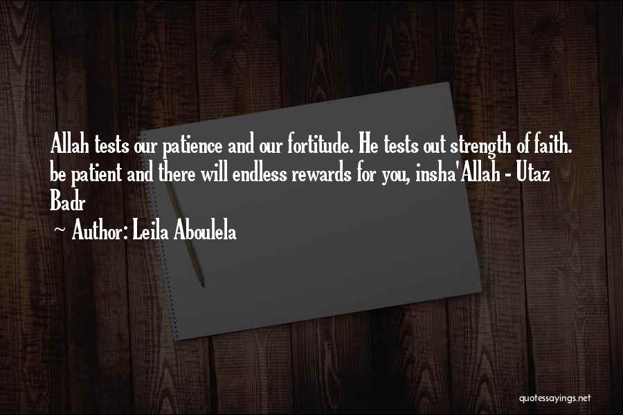 Allah Quotes By Leila Aboulela