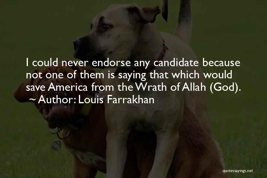 Allah Quotes By Louis Farrakhan