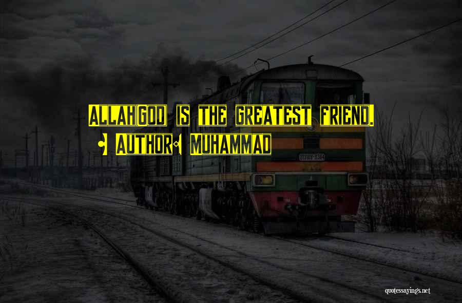 Allah Quotes By Muhammad