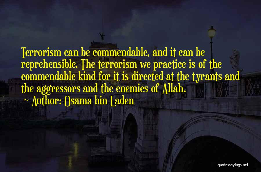Allah Quotes By Osama Bin Laden