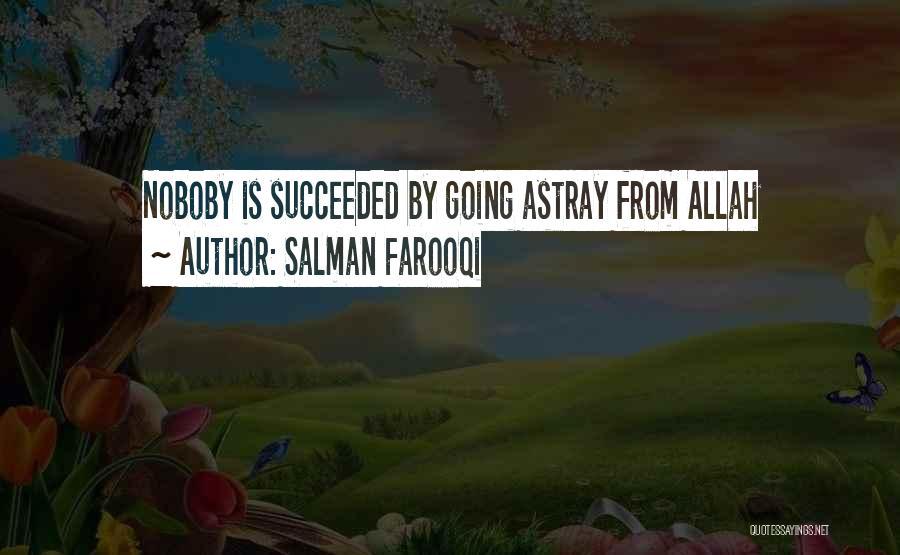 Allah Quotes By Salman Farooqi