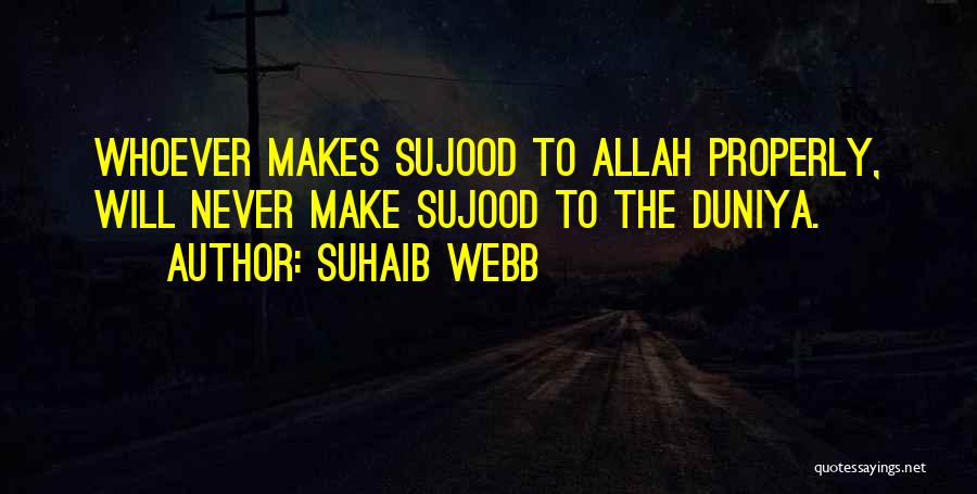 Allah Quotes By Suhaib Webb