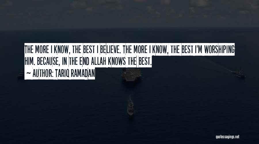 Allah Quotes By Tariq Ramadan