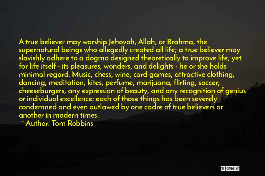 Allah Quotes By Tom Robbins