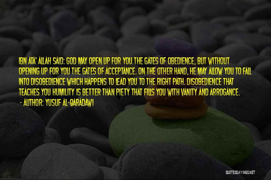 Allah Quotes By Yusuf Al-Qaradawi
