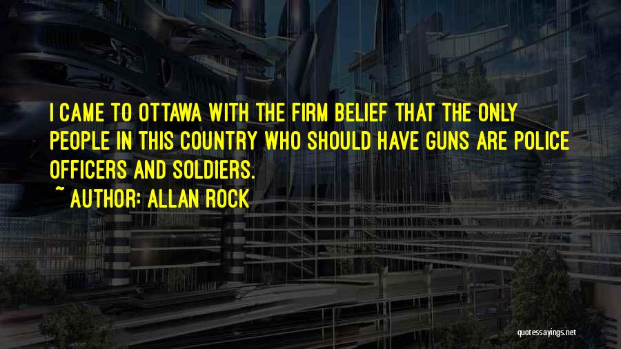 Allan Rock Quotes 118889