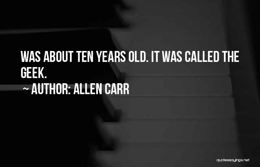 Allen Carr Quotes 1616810