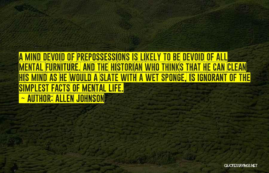 Allen Johnson Quotes 484267
