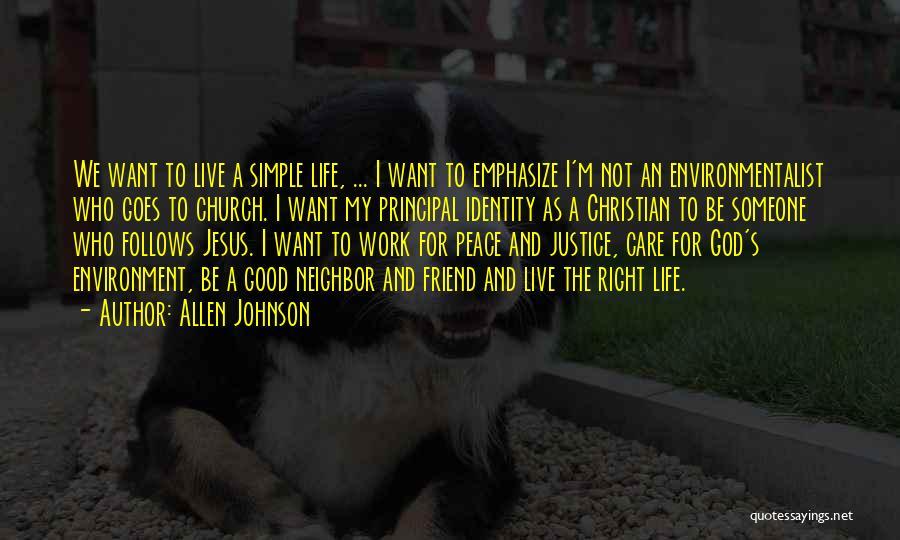 Allen Johnson Quotes 486109