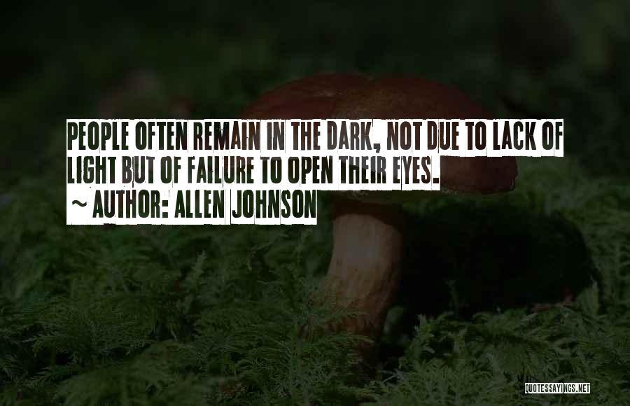 Allen Johnson Quotes 693150