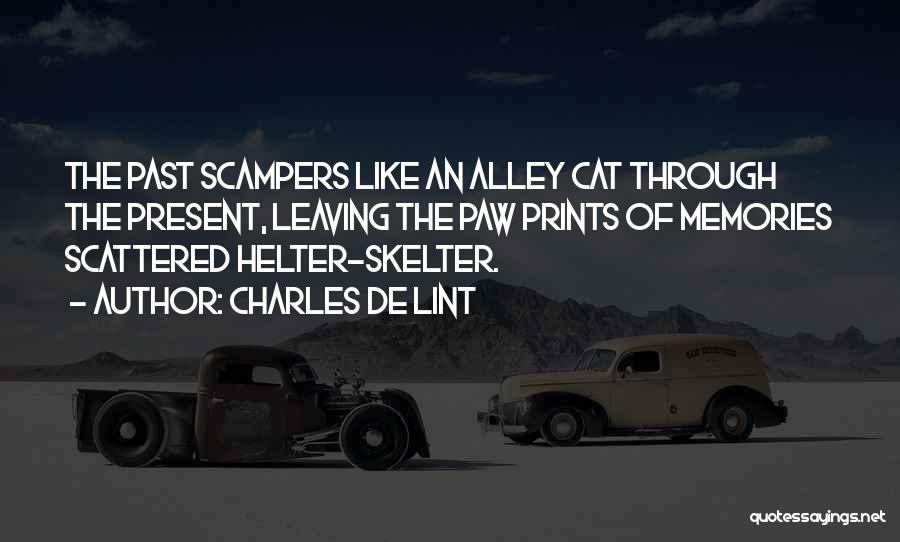 Alley Cat Quotes By Charles De Lint