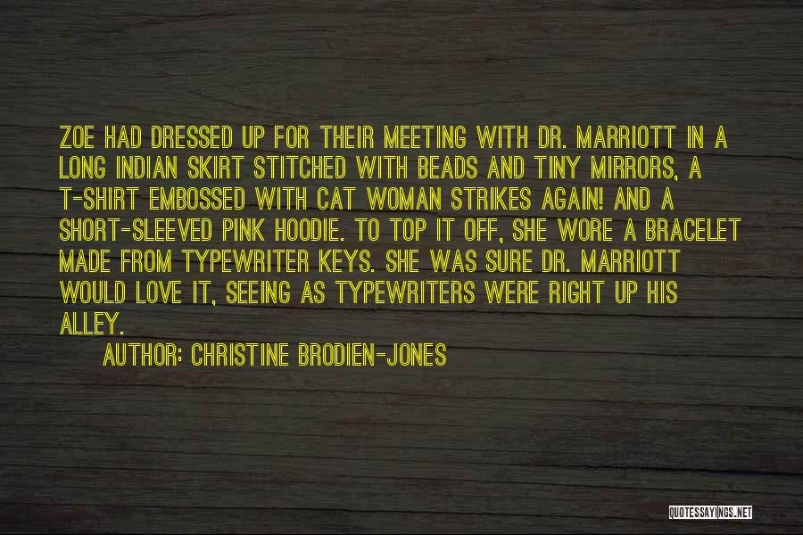 Alley Cat Quotes By Christine Brodien-Jones