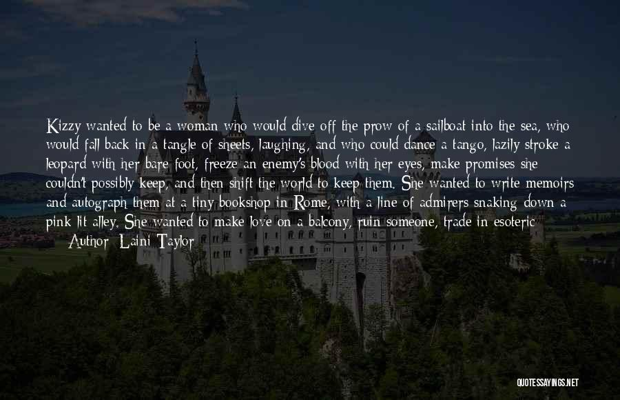 Alley Cat Quotes By Laini Taylor
