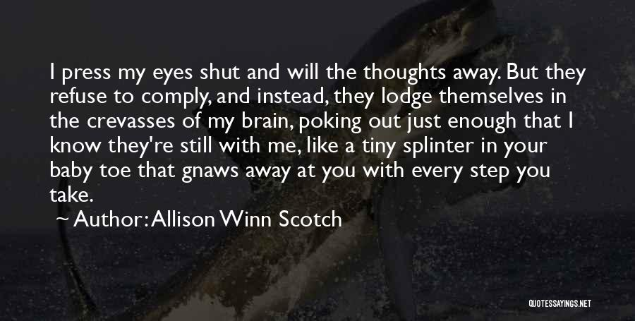 Allison Winn Scotch Quotes 1339319