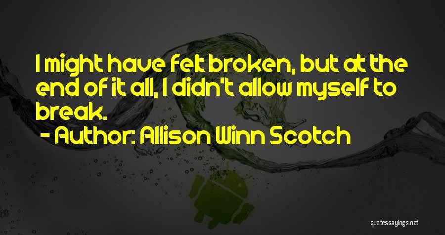 Allison Winn Scotch Quotes 1928748