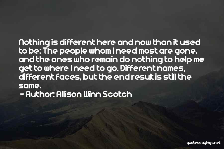 Allison Winn Scotch Quotes 1936341