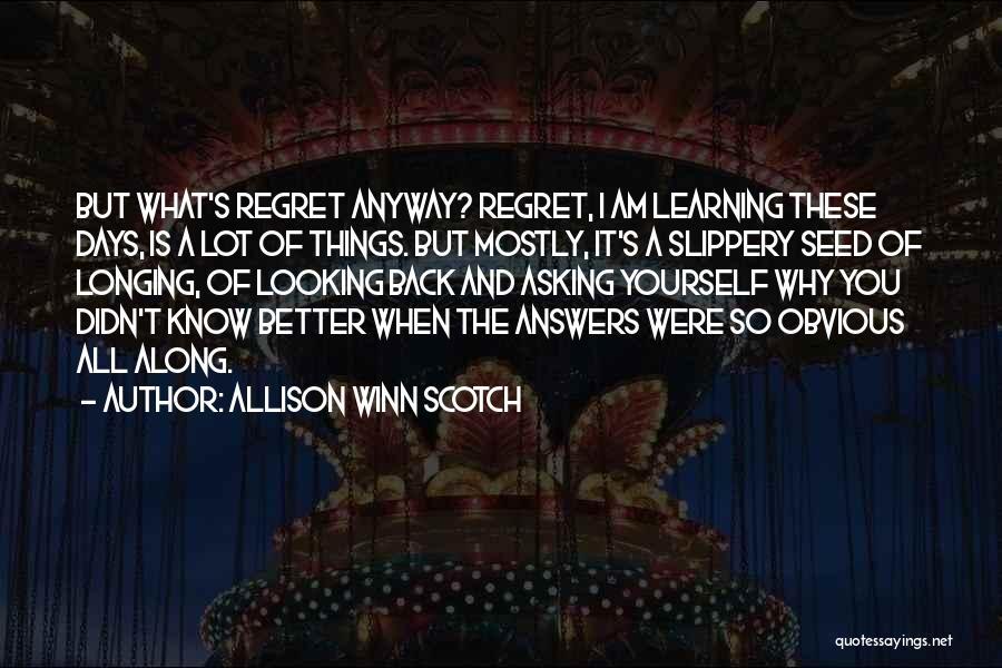 Allison Winn Scotch Quotes 322779