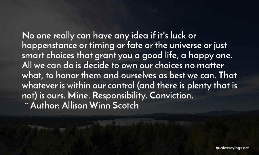 Allison Winn Scotch Quotes 389881