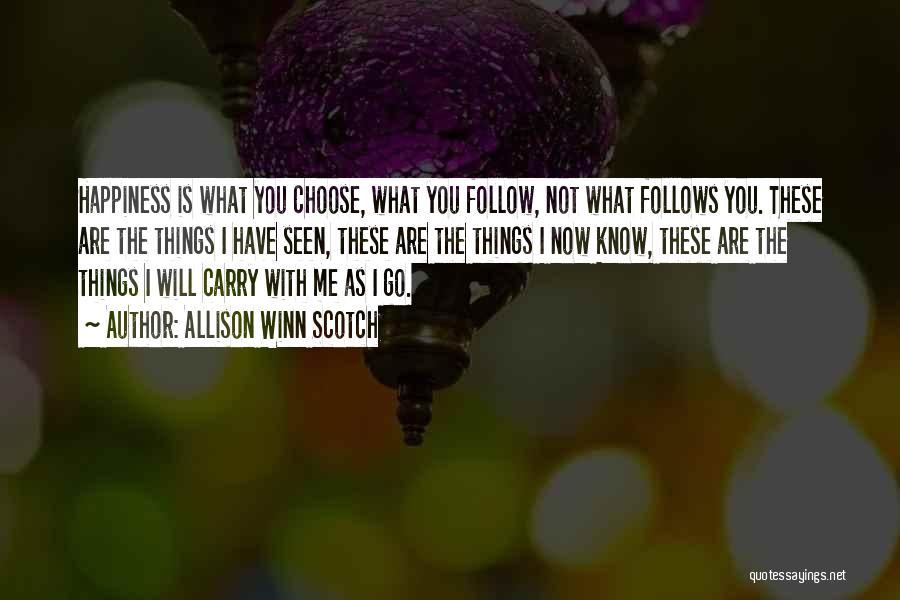 Allison Winn Scotch Quotes 853197