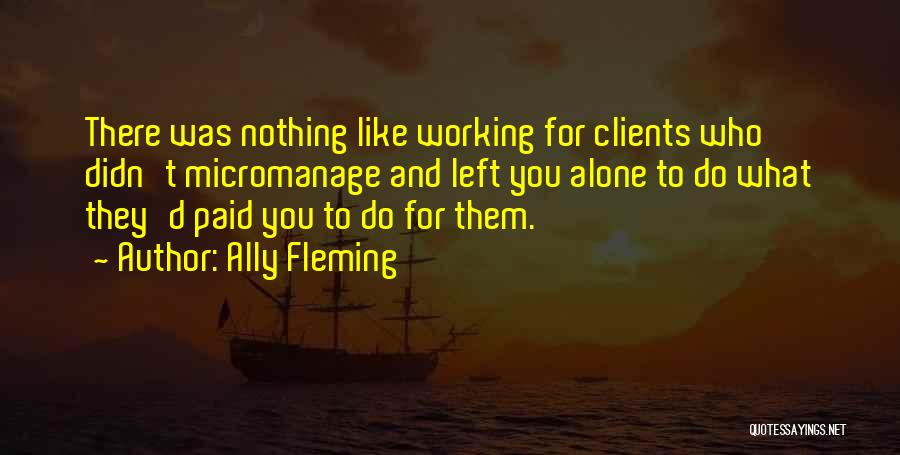 Ally Fleming Quotes 1474966