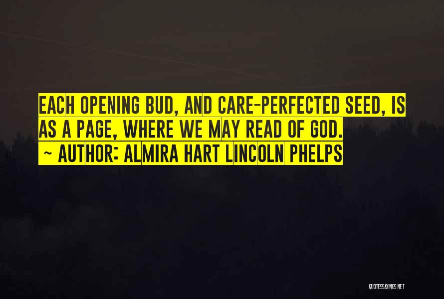 Almira Hart Lincoln Phelps Quotes 126553