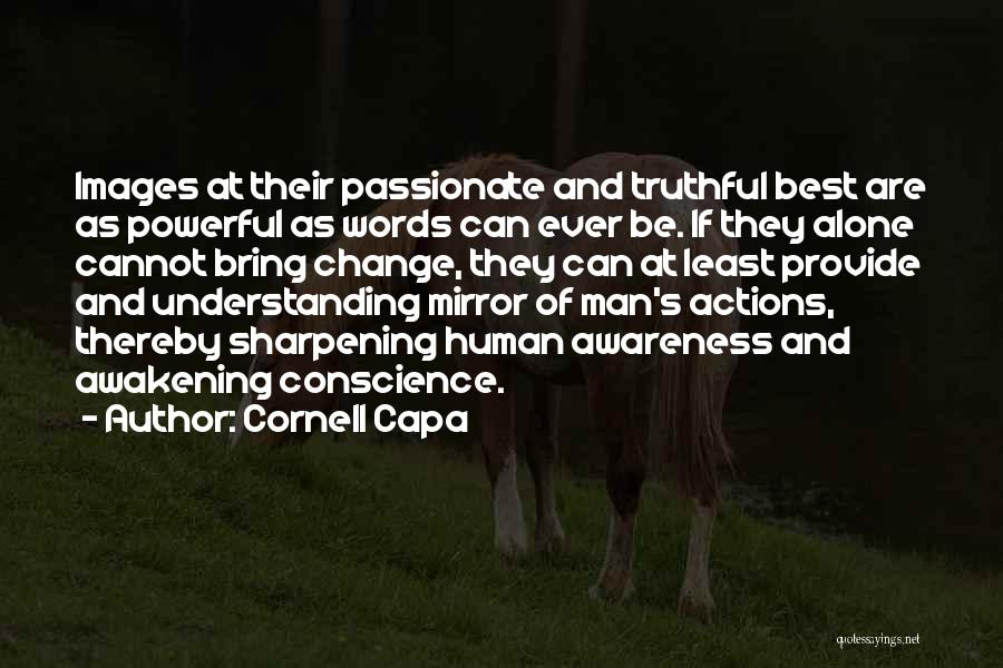 Alone Images And Quotes By Cornell Capa