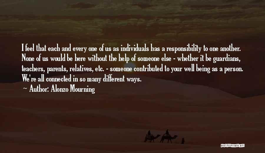 Alonzo Mourning Quotes 1435108