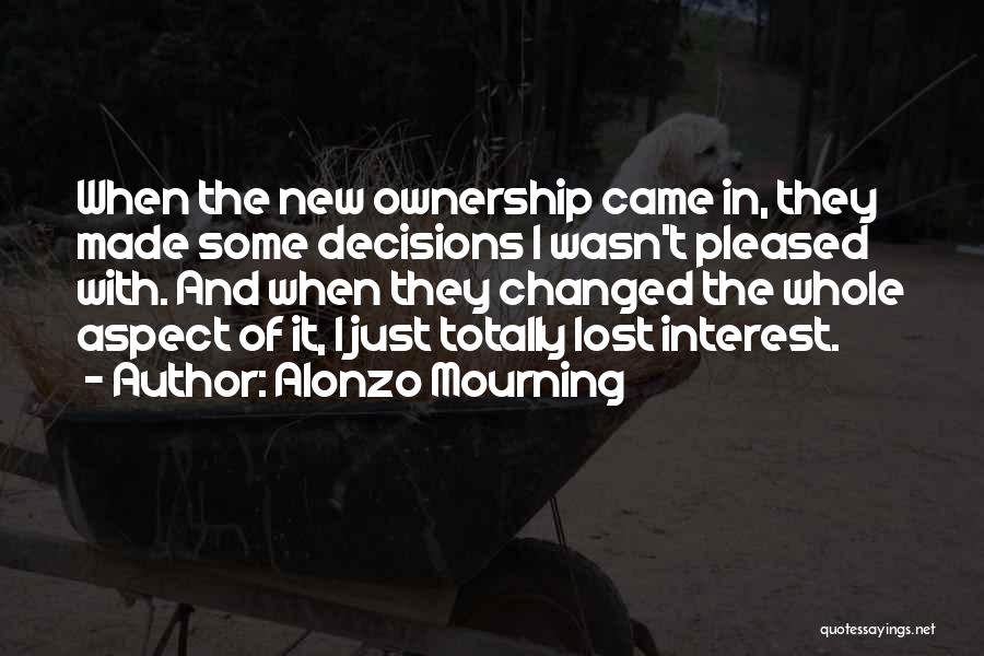 Alonzo Mourning Quotes 1510846