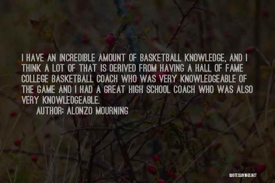 Alonzo Mourning Quotes 1934128
