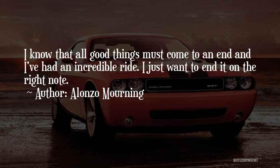Alonzo Mourning Quotes 2213128