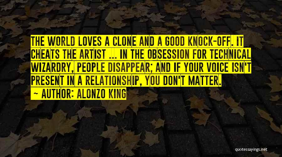 Alonzo Quotes By Alonzo King