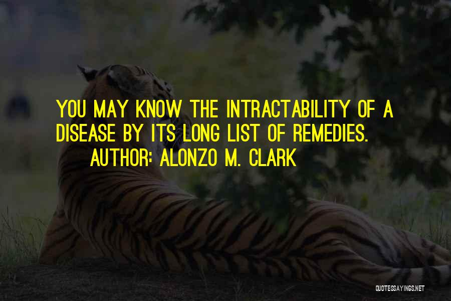 Alonzo Quotes By Alonzo M. Clark