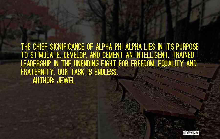 Top 4 Quotes & Sayings About Alpha Phi