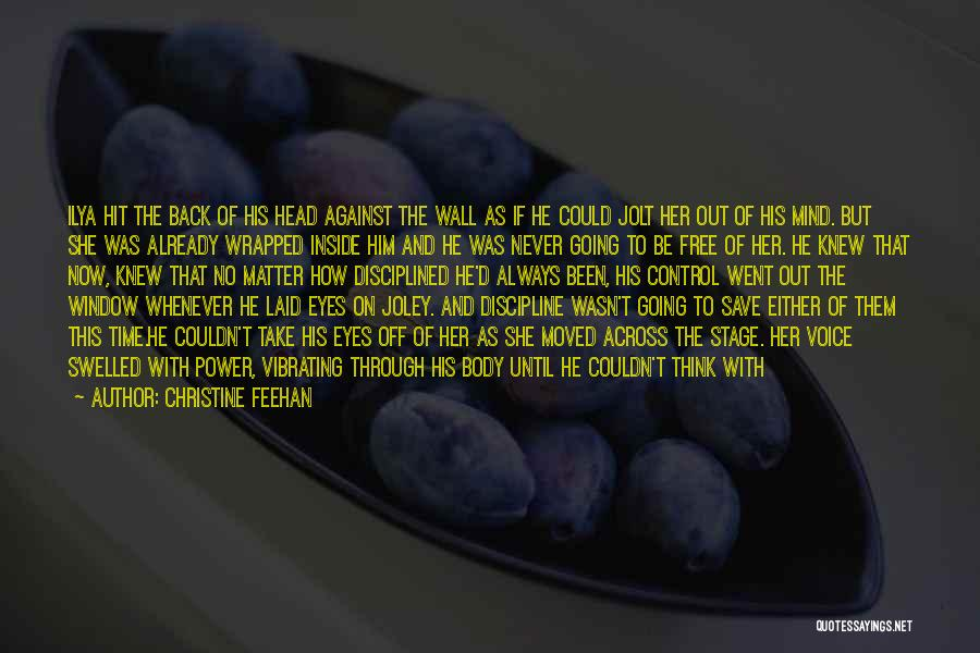 Already Moved On Quotes By Christine Feehan