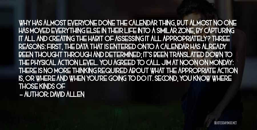 Already Moved On Quotes By David Allen