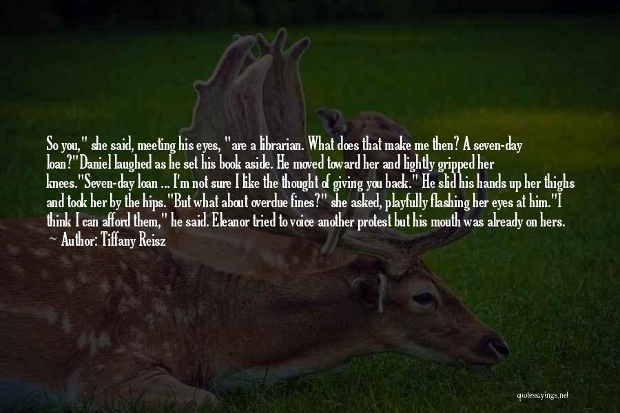 Already Moved On Quotes By Tiffany Reisz