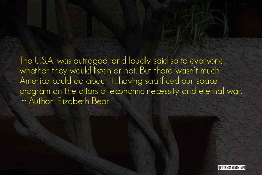 Altars Quotes By Elizabeth Bear