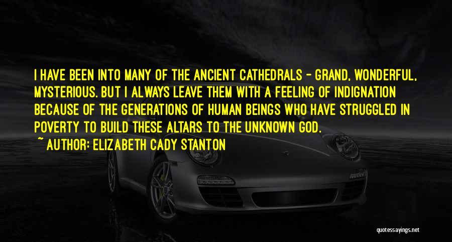Altars Quotes By Elizabeth Cady Stanton