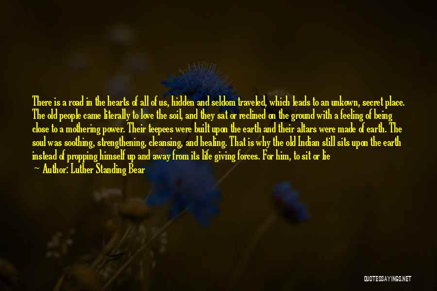 Altars Quotes By Luther Standing Bear