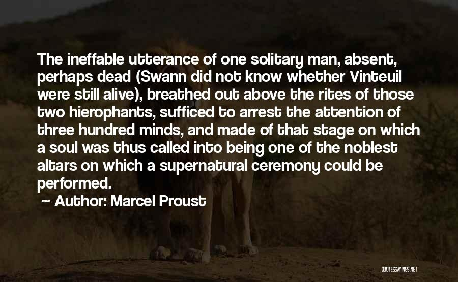 Altars Quotes By Marcel Proust