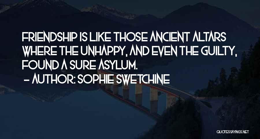 Altars Quotes By Sophie Swetchine