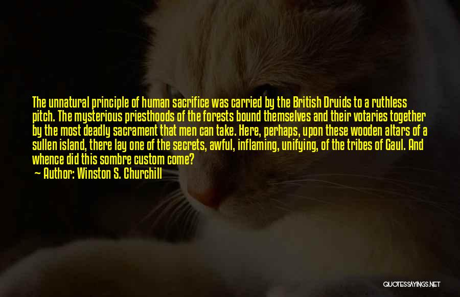 Altars Quotes By Winston S. Churchill