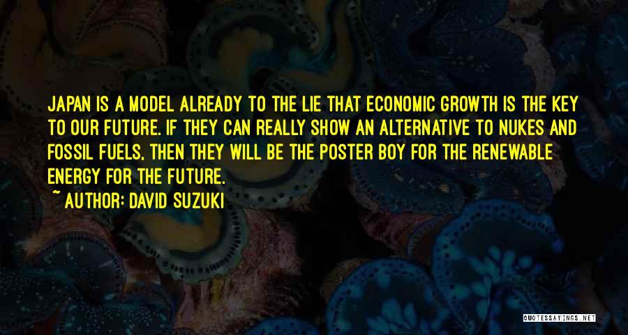 Alternative Fuels Quotes By David Suzuki